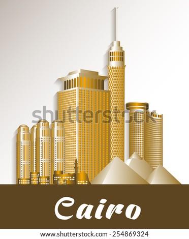 city of cairo egypt famous