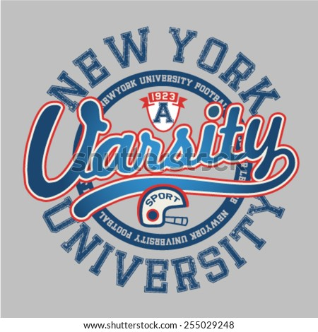 varsity graphic about new york
