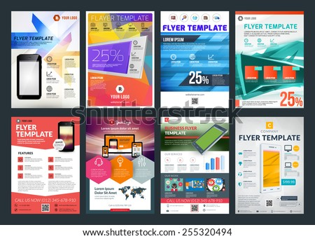 set of abstract vector business