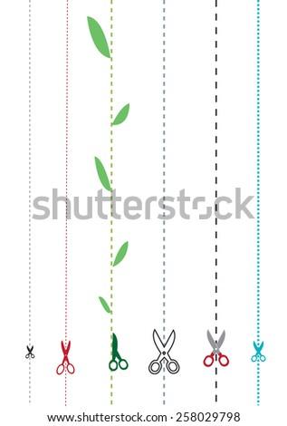 images of different scissors