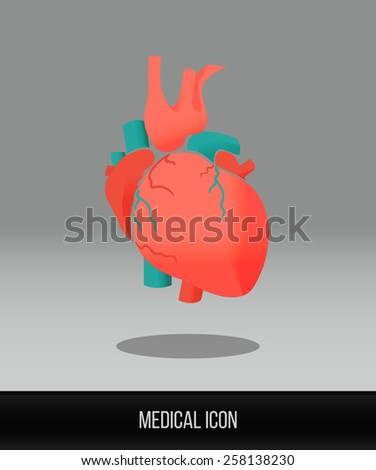 medical icon vector flat icon