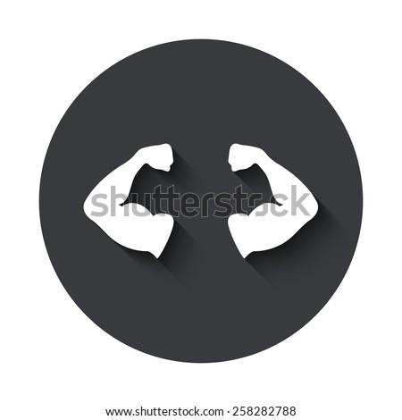 vector modern muscle gray