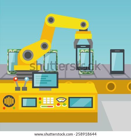 robotic arm operator