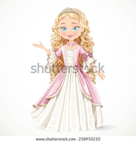beautiful young blond princess