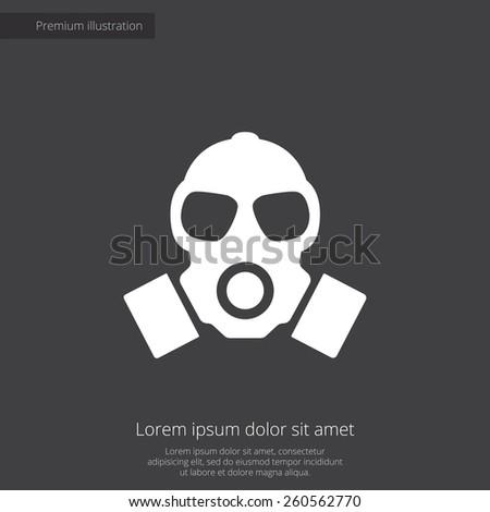 respirator premium illustration