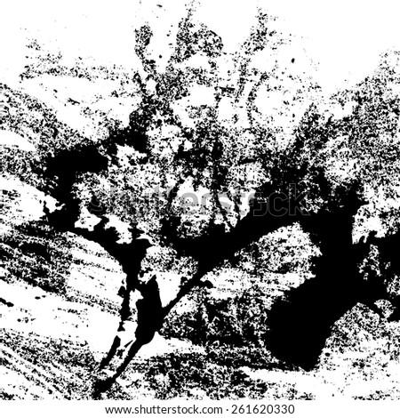 vector artistic texture black