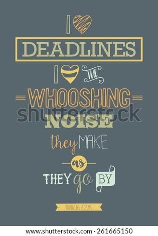 print quote poster vector