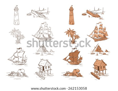 Shipwrecks free vector download (3 Free vector) for commercial use ...