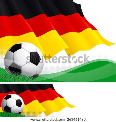german soccer vector