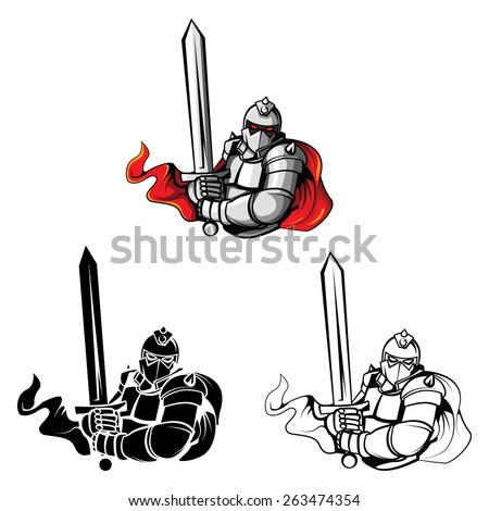tattoo symbol of knights