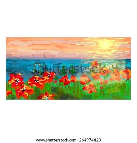 art print illustration card