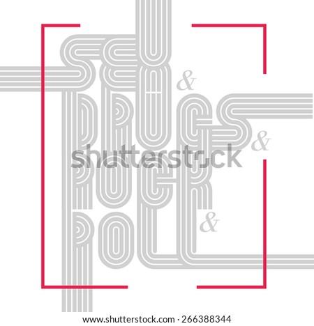 vector illustration on white