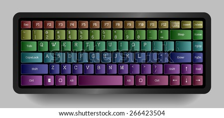 color keyboard  the original
