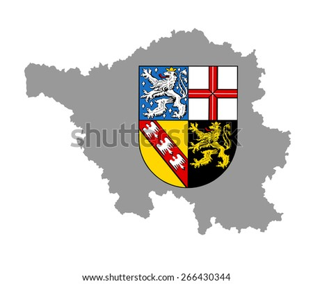 coat of arms of saarland state