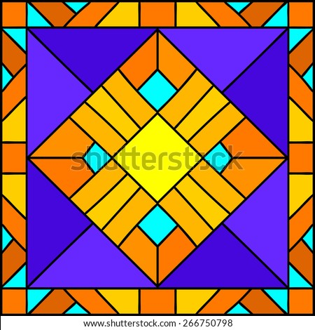geometric composition  egyptian