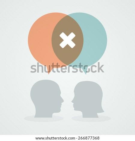 dialog about negativity