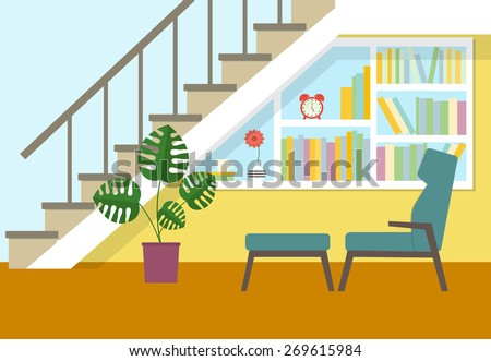 flat place to relax under  the