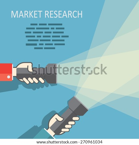 stock-vector-web-search-with-flat-flashlight-and-hands