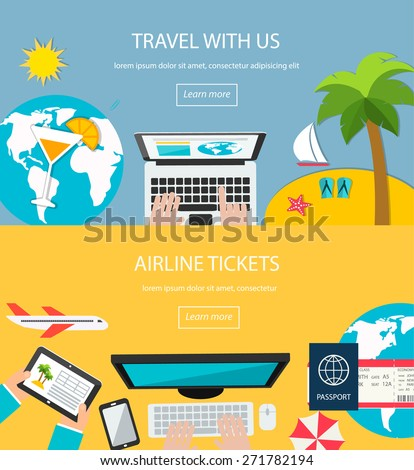 travel background booking