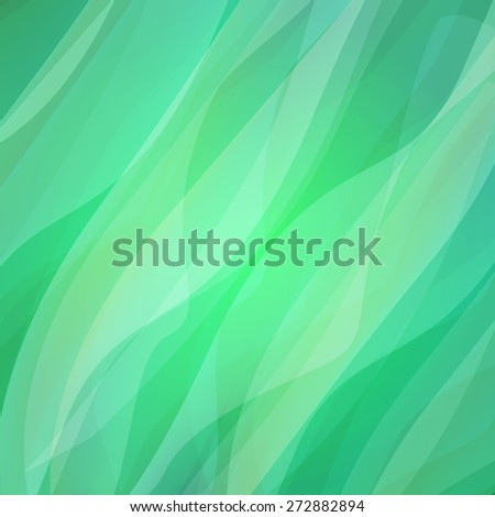 the abstract green background