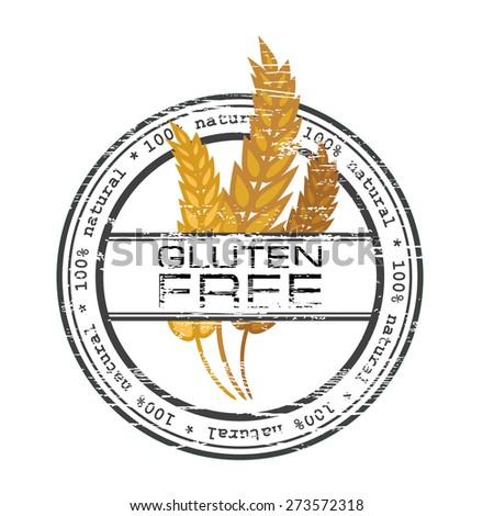Gluten Free Vector Vintage