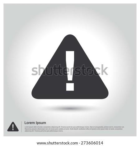 alert symbol icon vector