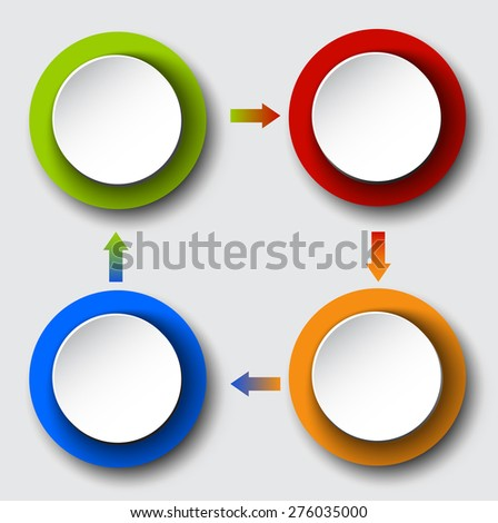 circle arrows set for your info