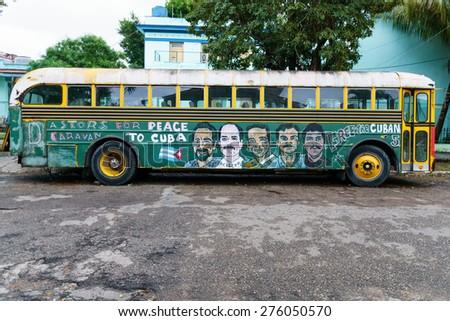 havana feb 4 a cuban bus with