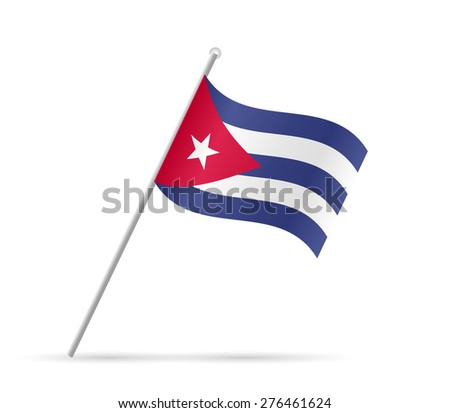 illustration of a flag from