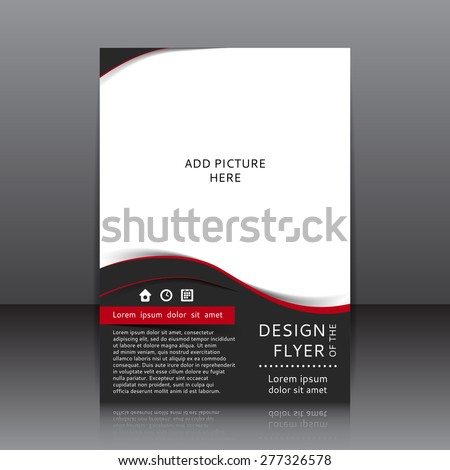 red black flyer template free vector download 26 917 free vector