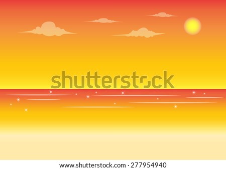 beach and sky background for