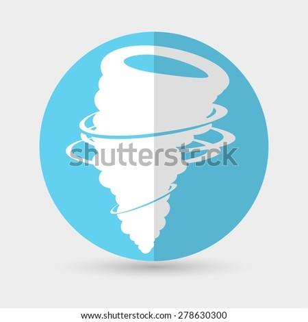wind icon vector