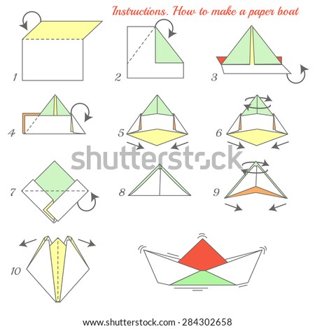 instructions how to make paper