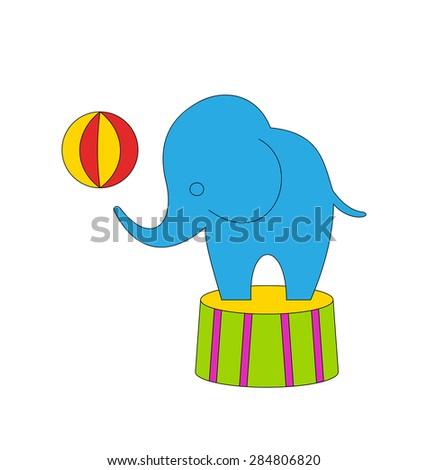 illustration dexterous circus