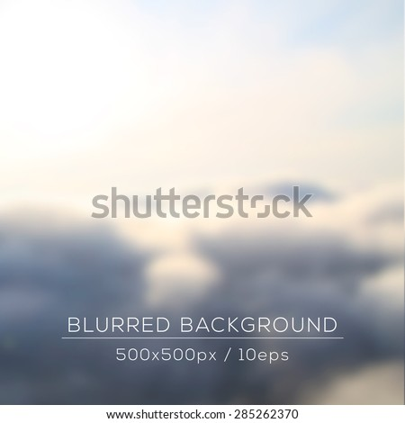 cumulus clouds view from the