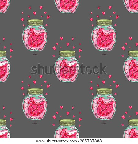 seamless pattern design with