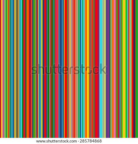 seamless rainbow curved stripes