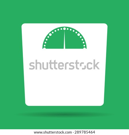 weighting icon vector