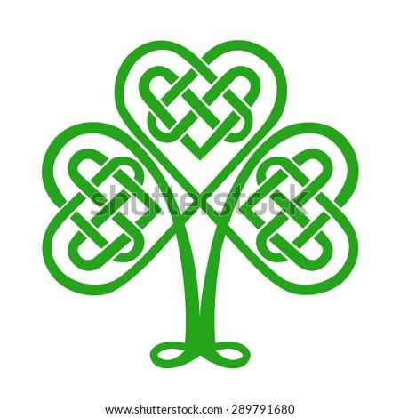celtic heart  shamrock  st