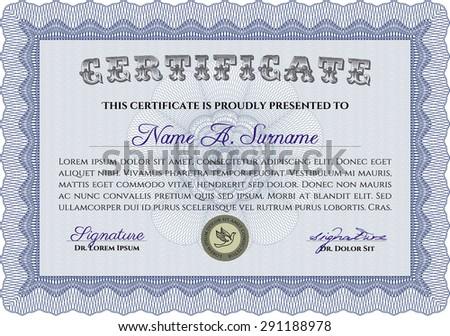 diploma or certificate template