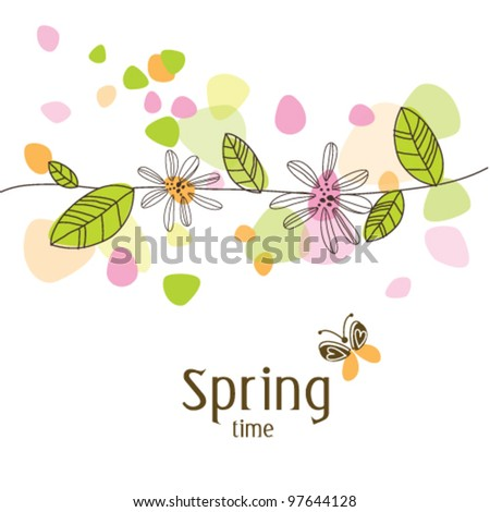 nice colorful greeting card