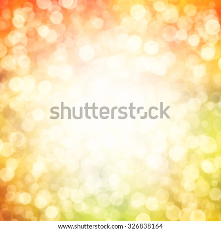 a autumn background with sunny rays  - stock photo