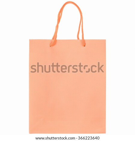 A carrier or shopping bag for goods vintage