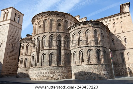 A cathedral in Toledo,  Spain - stock photo