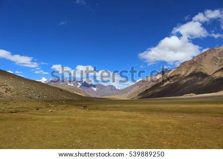 A Landscape in the Himalayas