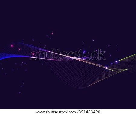 abstract background with lines and patches of light