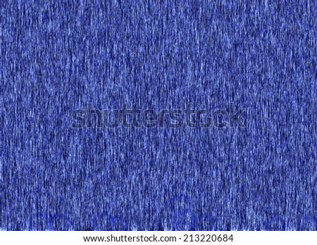 Abstract - blue indigo fabric -Texture                         - stock photo