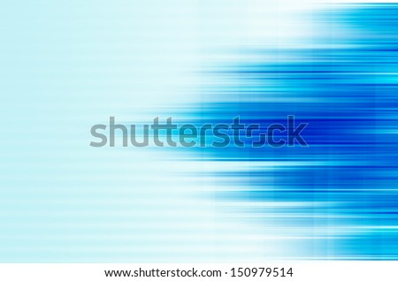 abstract blue lines background. - stock photo