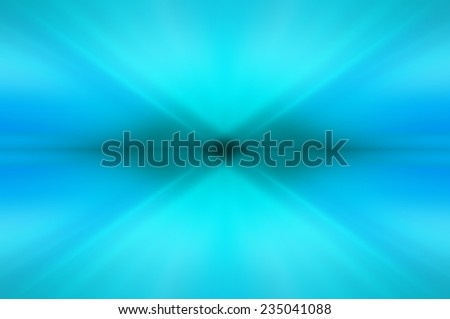 Abstract blue neon fractal background with various color strips - stock photo