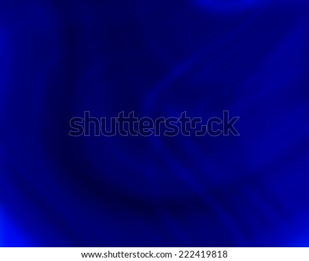 Abstract  Blue smooth twist light lines background. - stock photo